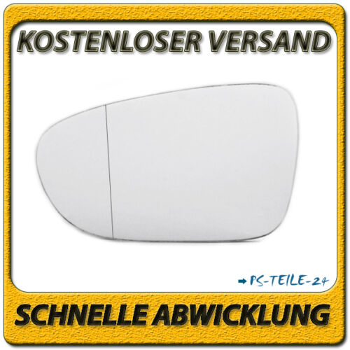 Außenspiegel Spiegelglas für VW SHARAN 1995-07//1998 links Fahrerseite asphärisch