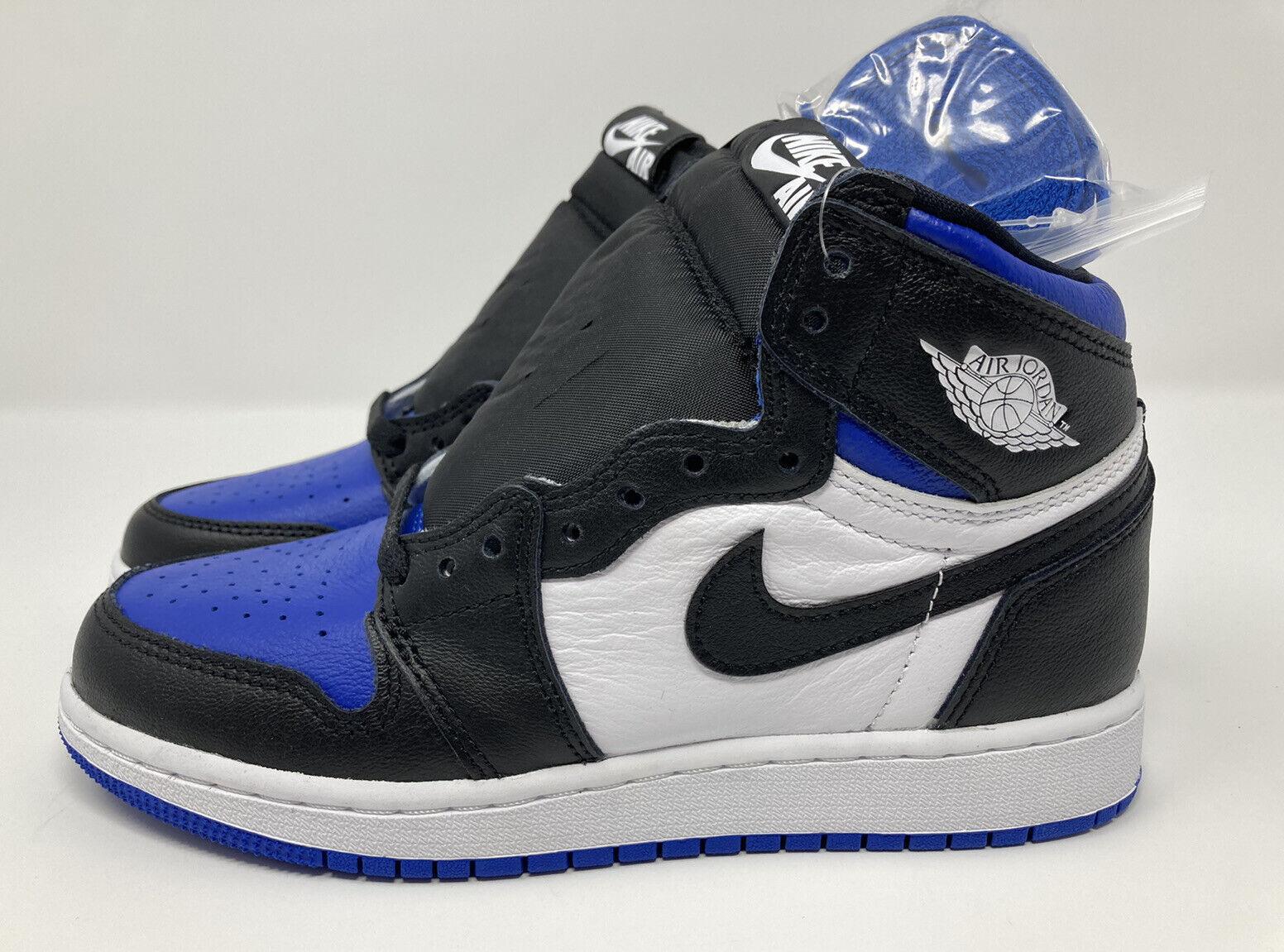 Jordan 1 Retro High OG Royal Toe (GS) 575441-041 Size 4Y Women's 5.5 Brand New