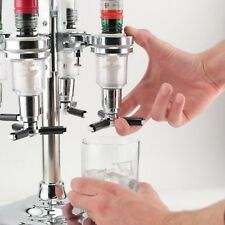 6 Pack Replacement Nozzle Shot Dispenser for Revolving Liquor Bottle Caddy Stand