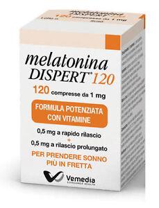 MELATONINA-Dispert-Integratore-Alimentare-Facilita-il-Sonno-120-compresse-da-1mg