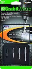 Alden 4507P Grabit Micro Damaged Screw and Bolt Remover- 4PC MICRO GRABIT KIT