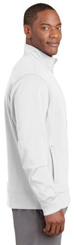 ST241 Sport-Tek Men/'s Polyester Performance Long Sleeve Fleece Full Zip Jacket