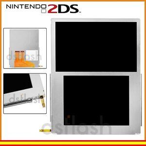 garsent Pantalla LCD para Nintendo 2DS - Plata