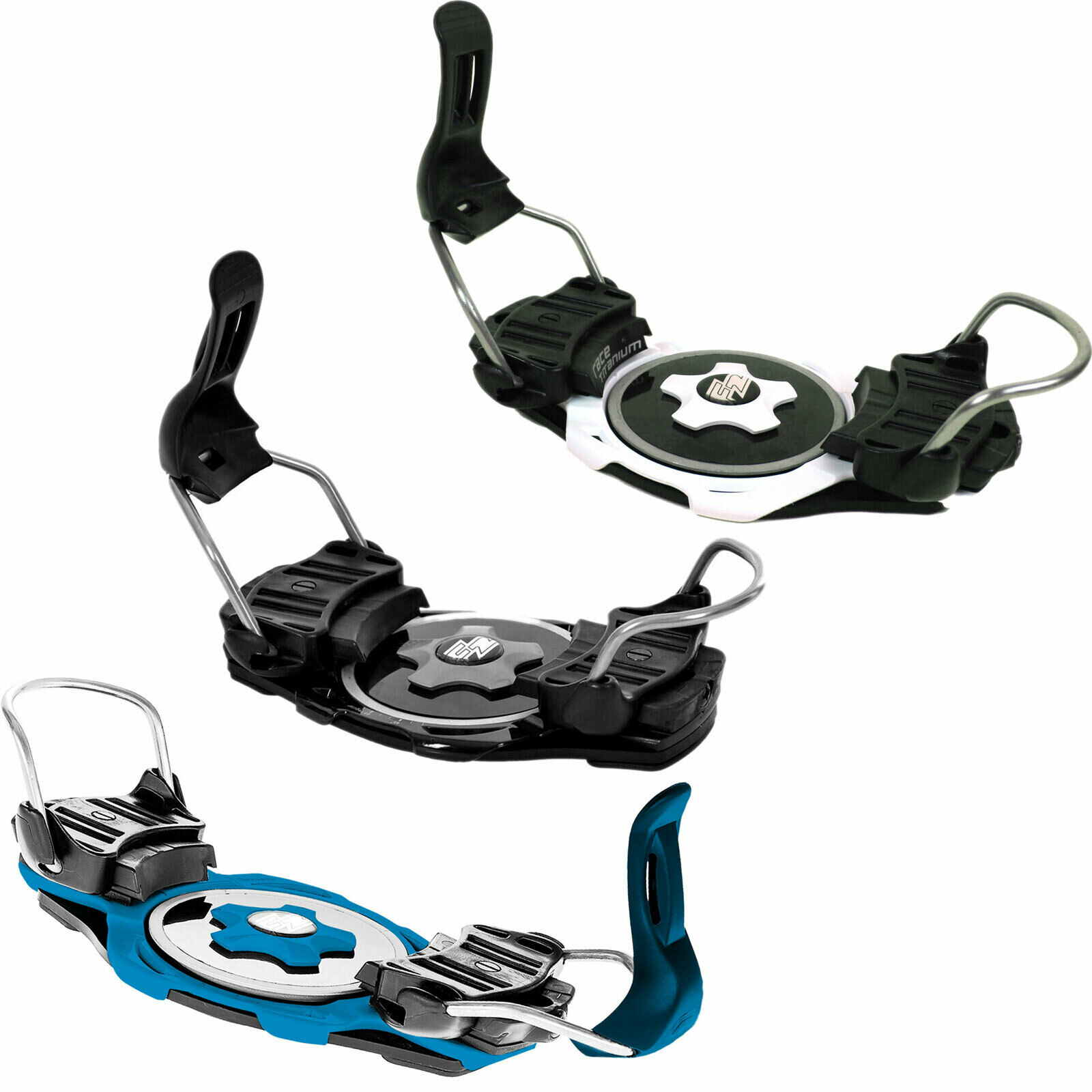F2 Race Titanium Binding Curved  Snowboard Hardboot raceboardbindung NEW  affordable