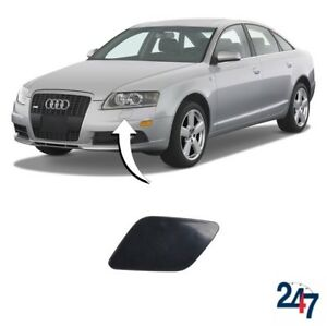FOR AUDI A6 C6 2004-2008 NEW FRONT HEADLIGHT WASHER COVER CAP PRIMED RIGHT O//S