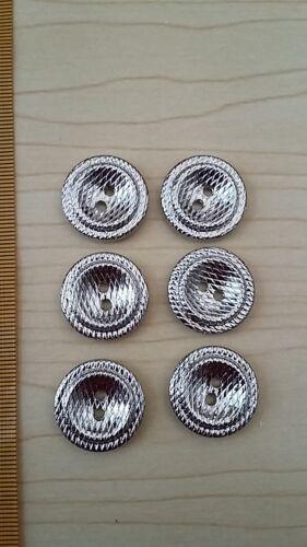NEUF-Veste gilet cardigan à motifs plat boutons-or argent ou étain tons