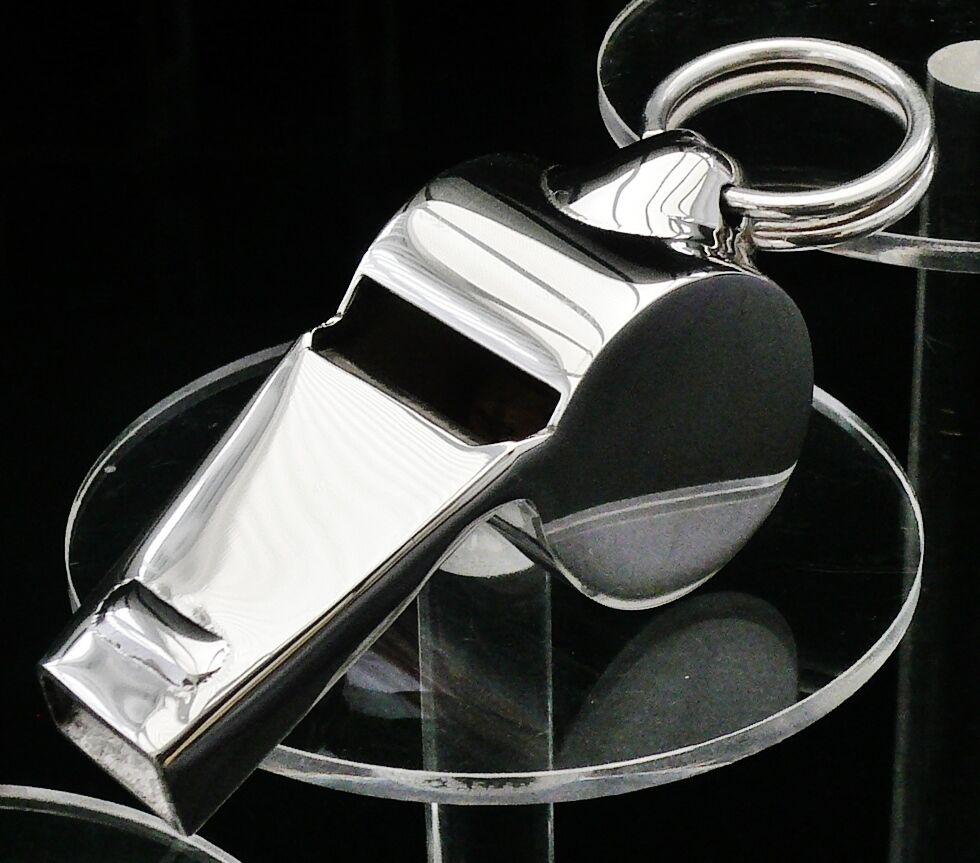 Sterling zilver Referene Whistle, Scottish Hallgemerkt, Dog Training