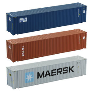 53ft N Scale Container 1:150 Shipping Container 53foot Freight Car Model Train