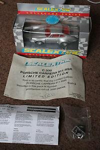 Scalextric C330 en boîte Porsche Carrera 911 Rsr édition limitée rare à la menthe