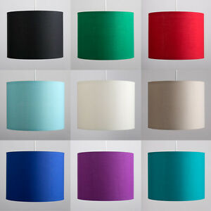 Fabric Ceiling Pendant Table or Floor Lamp Light Shade Lampshades