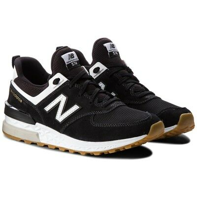 new product 79dee bb029 New Balance 574 MS574FCB Men's Running Shoes Sneakers Casual Trainers 2018  Black | eBay