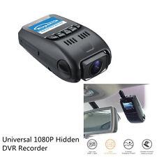 Auto Car Front & Rear 1080P Hidden Dual Dash Cam Lens DVR Recorder Night Vision