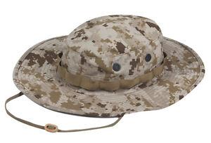 Desert-Digital-Camo-Boonie-Hat-Wide-Brim-Poly-Cotton-Ripstop-by-TRU-SPEC-3262