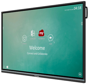 """ViewSonic 75"""" 4K/UHD 20-Point Ultra Fine Touch Screen Interactive Display / TV"""