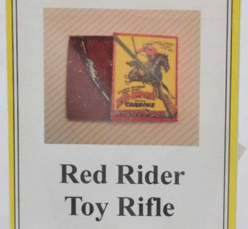 1:12 Dollhouse miniature Red Ryder Toy Rifle it Kit DI TY118