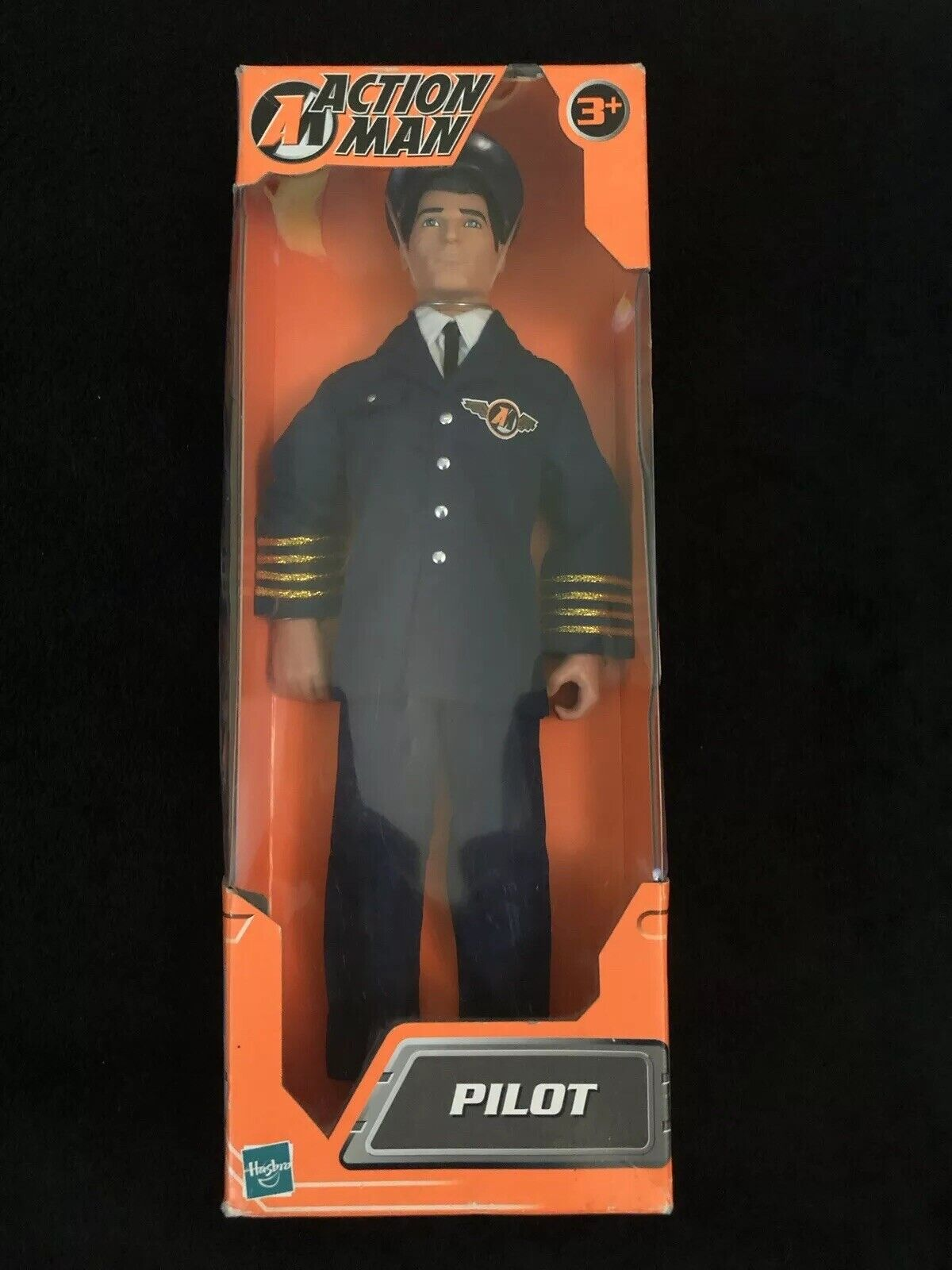 Action Man Hasbro 2002 Pilot Boxed Unopened Figure & Outfit