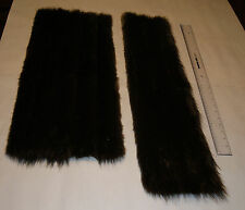 Genuine Beaver Fur / Garment or Craft Fur Large Pieces #FS003