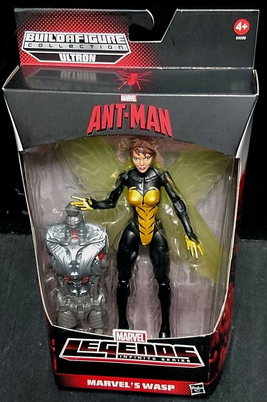Marvel Legends Ultron Series WASP New  Avengers Infinite Ant Man Hank Pym X-Men
