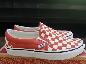 dd3f6283a6660b NEW IN THE BOX VANS SLIP-ON CHECKERBOARD HOT SAUCE VN0A38F7ULL FOR ...