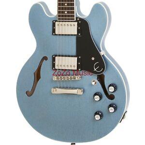 epiphone es 339 pro limited edition tv pelham blue semi hollow electric guitar ebay. Black Bedroom Furniture Sets. Home Design Ideas