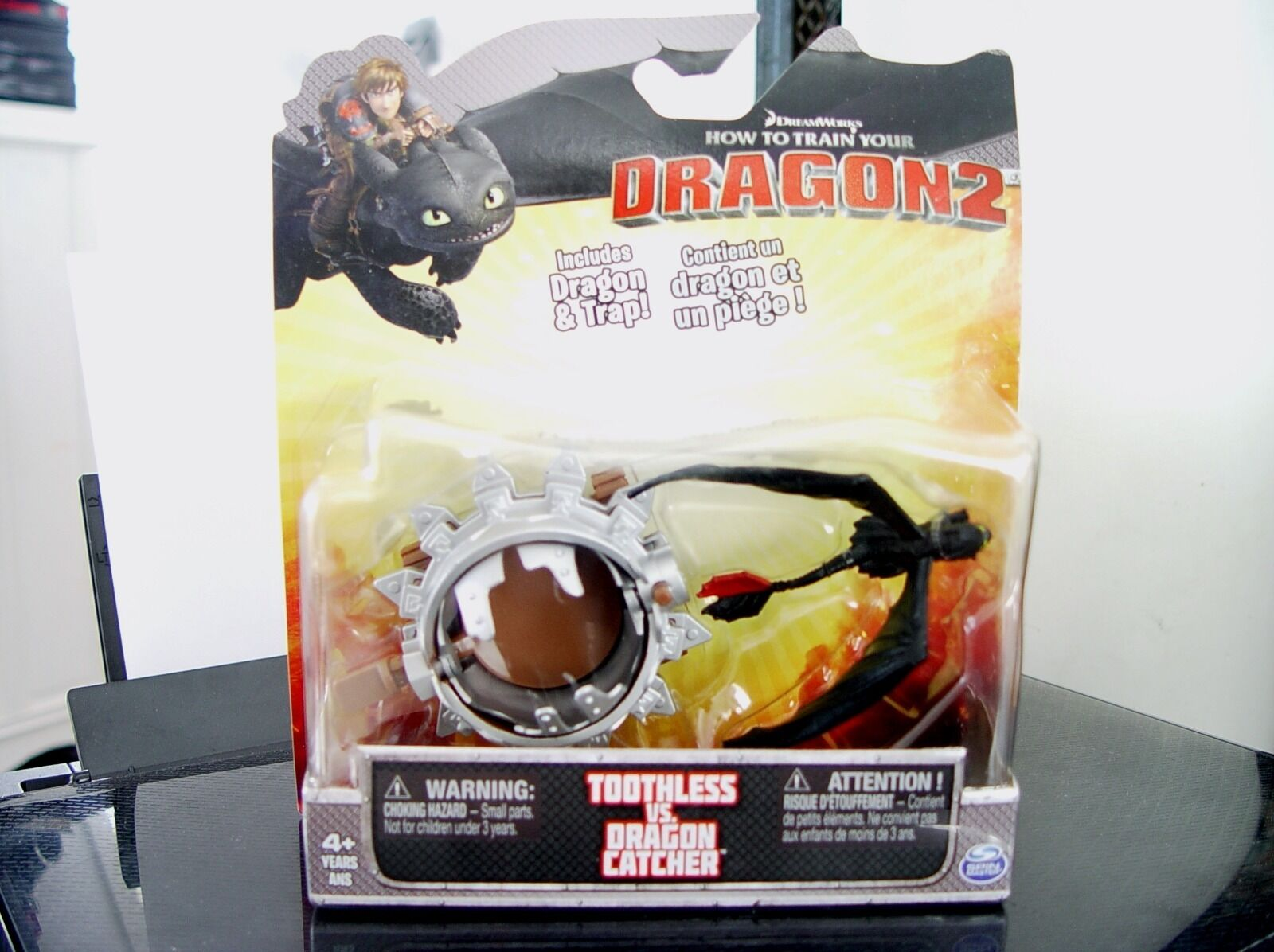 HOW DRAGON TO TRAIN YOUR DRAGON HOW 2 TOOTHLESS VS DRAGON CATCHER 2014 4+ SPIN MASTER NIB bde00f