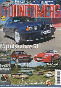 YOUNGTIMERS-69-FIAT-COUPE-93-00-BMW-M5-Evo-E34-SCORPIO-2-4-V6-GHIA-NISSAN-PATROL