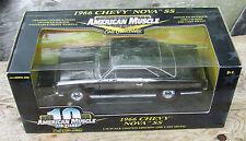 ERTL 1-18 '66 Chevy Nova ULTRA RARE CHROME CHASE CAR