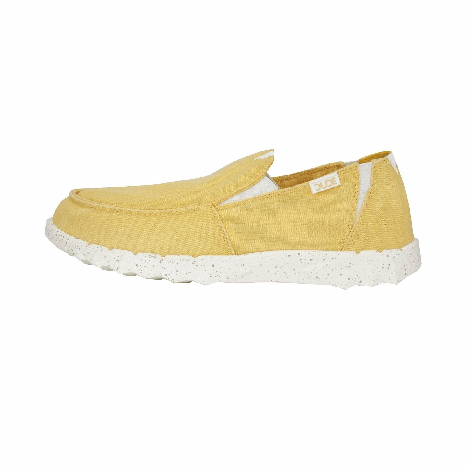 Hey Dude shoes Men's Farty Washed Yellow Slip On Mules