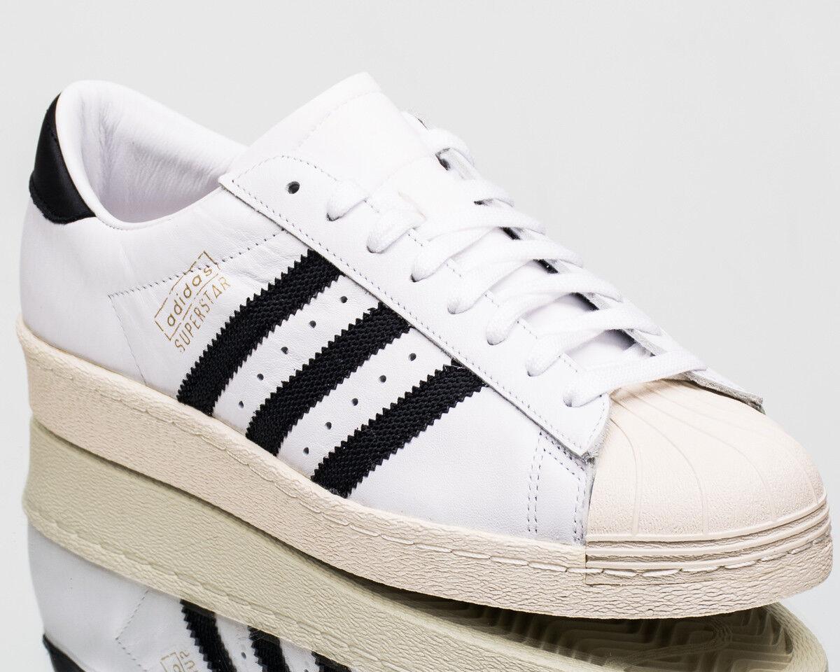 Adidas Originals Superstar OG men lifestyle Turnschuhe NEW off Weiß schwarz CQ2475