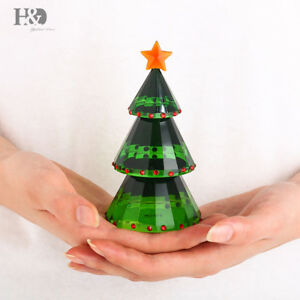Christmas-Tree-Crystal-Glass-Figurines-Paperweight-Ornament-Kids-Gift-Home-Decor