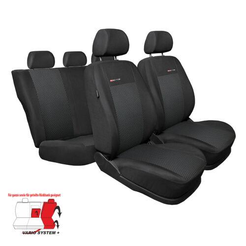 Toyota Avensis III Sitzbezüge Sitzbezug Schonbezüge ELEGANCE 3