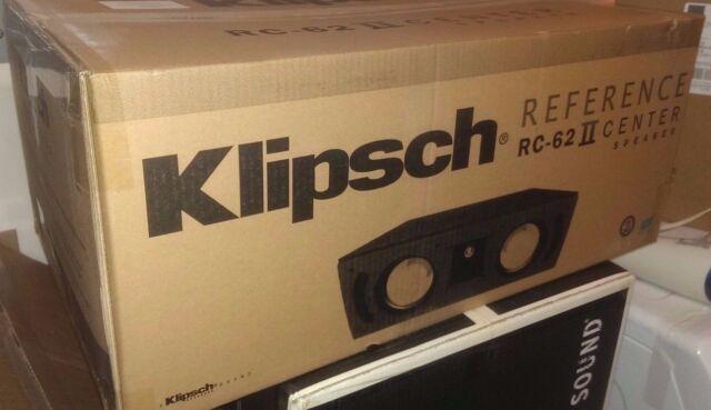 NEW Klipsch RC-62 II 6.5