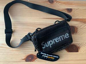 Supreme-SS20-Small-Shoulder-Bag-Black-NWT