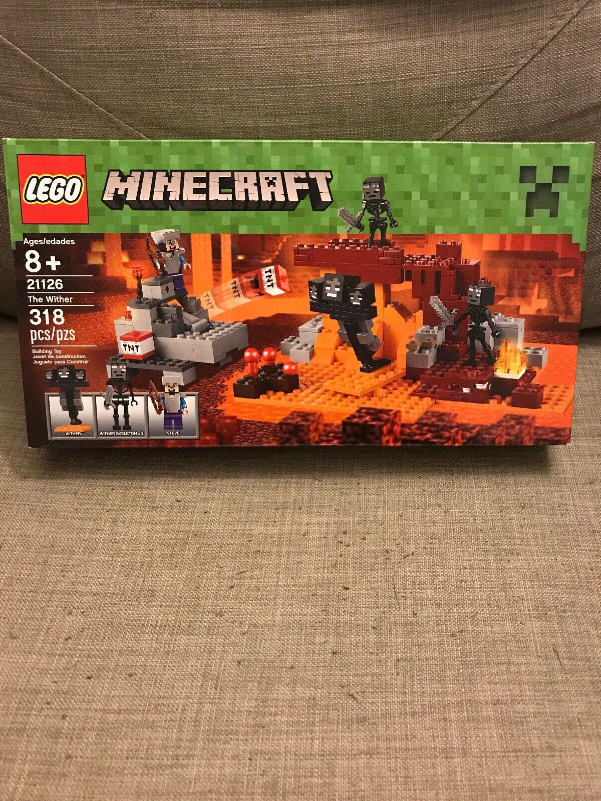 LEGO Minecraft The Wither Set 21126