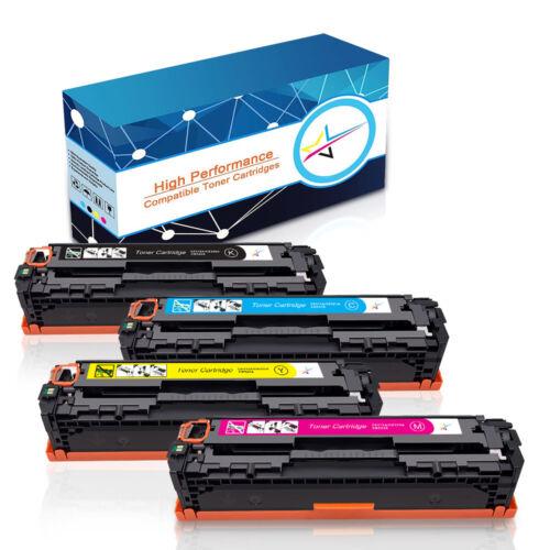 CB540A CB541A CB542A CB543A Toner Combo Lot For HP Color Laserjet CM1312 CP1215