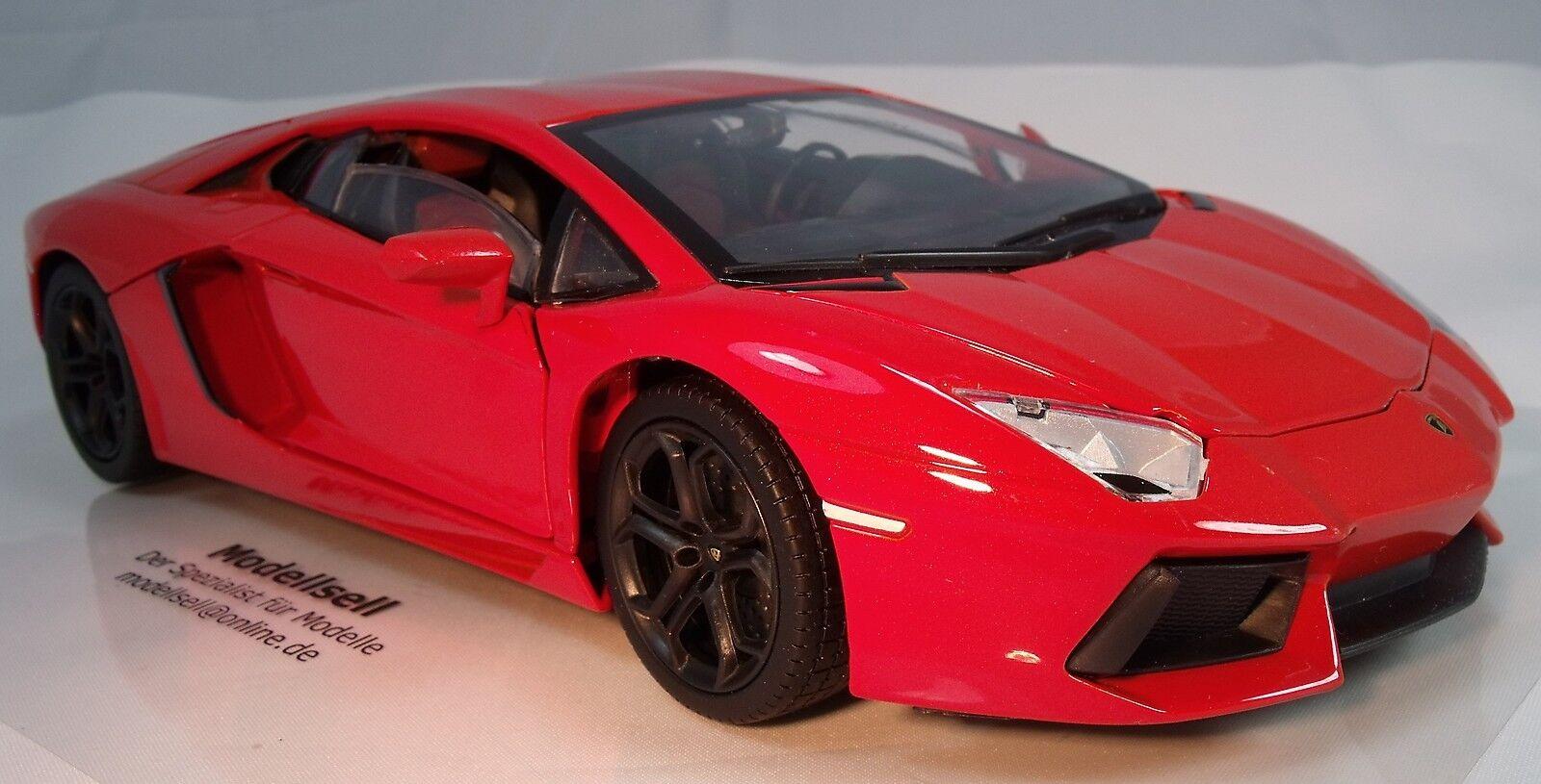 Lamborghini Aventador voiture miniature de Mondo Motors à l'échelle 1 18 en OVP