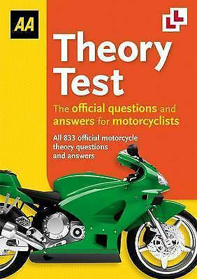 1 of 1 - (Good)-Theory Test for Motorcycles (Aa Driving Test) (Paperback)-AA Publishing-0