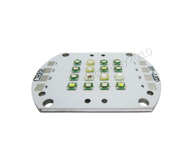 48W 16leds/36W 12leds CREE+Epileds 4 channel Multiple Color LED Light Lamp