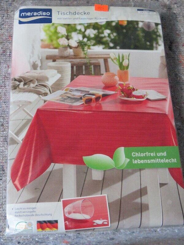 4x New Table cloth  130x160 cm