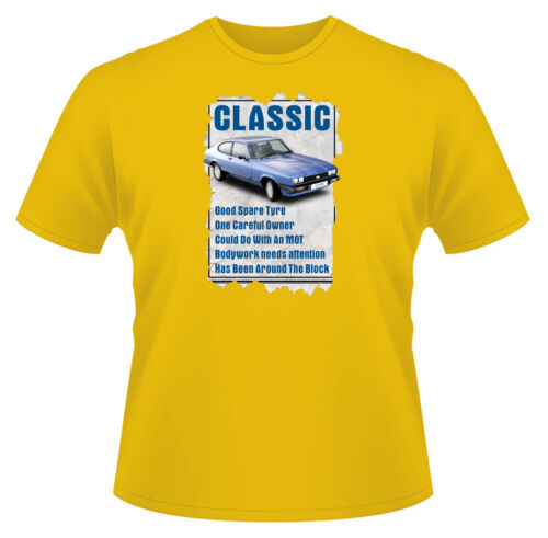 Classic Ford Capri Ideal Birthday Present or Gift Mens Funny T-Shirt