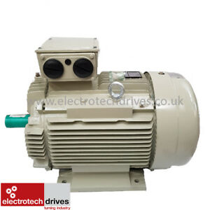 Teco 90kw 125hp Three 3 Phase Electric Motor