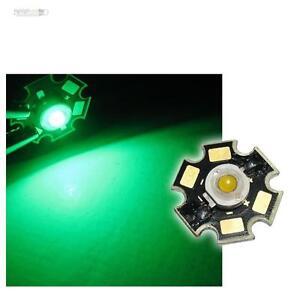 5-x-POWER-LED-Chip-STAR-Platine-3W-GRUN-HIGHPOWER-green