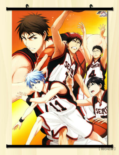 "8/""*12/"" Home Decor Japan Anime Kuroko no Basket Cosplay Wall Poster Scroll 161"