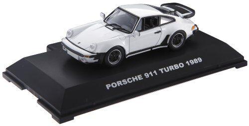 Super  Sound Premium PORSCHE 911 TURBO 1989 Grand Prix blanc  prendre jusqu'à 70% de réduction