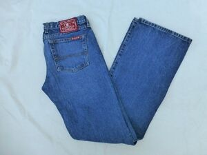 WOMENS-LUCKY-BRAND-SKINNY-LOWERED-BOOTCUT-JEANS-SIZE-8x33-5-W1238