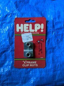 5//16-18 Dorman 03954 A-Frame Clip Nut Pack of 2
