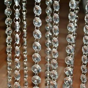 Crystal-Clear-Acrylic-Beads-Garland-Chandelier-Hanging-Wedding-Party-Supplies-1M