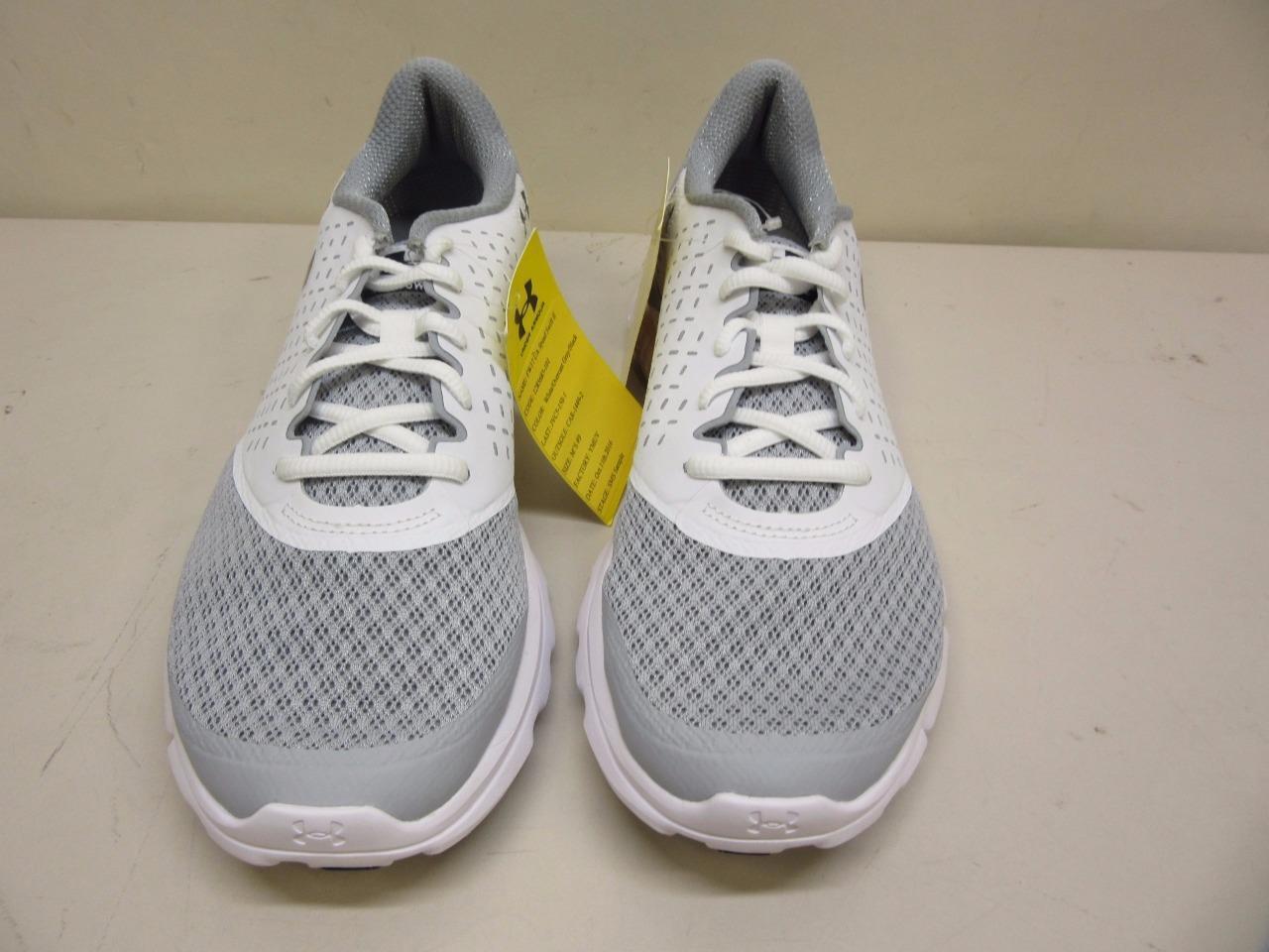 fw17 hommes sous blindage vitesse swift ii sms échantillon sport chaussure de sport échantillon - taille 9 Gris  a74c98