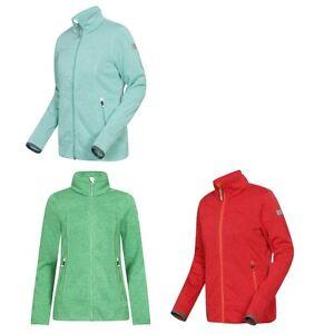 Details zu Icepeak Fleece Strick Jacke Strickjacke Strickfleece Jacke für Damen