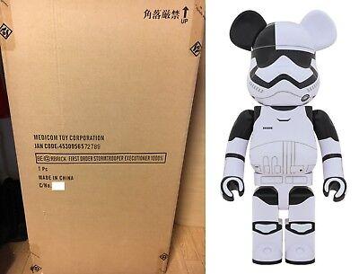 Medicom Be@rbrick Bearbrick Star Wars First Order Stormtrooper Executioner 400/%